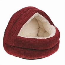 Happy Pet Cave Cranberry Rood